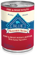 Blue Homestlye Recipes 12oz Fish & Sweet Potato Dinner with Garden Vegetables Can