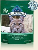 Blue Buffalo Feline Wilderness Duck Recipe Dry Food 2lbs