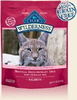Blue Buffalo Feline Wilderness Salmon Recipe Dry Food 5lbs
