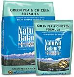 Natural Balance 10lbs Green Pea & Chicken L.I.D Dry Cat Food
