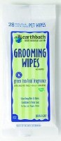 Earthbath Green Tea Leaf Grooming Travel Wipes for Pets 28 counts