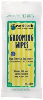 Earthbath Hypo-Allergenic Grooming Travel Wipes for Pets 28 counts