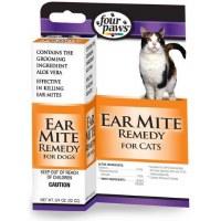 Four Paws Ear Mite Remedy .75oz