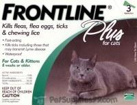 Frontline Plus for Cats & Kitten 8 weeks or Older
