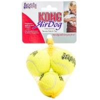 KONG AirDog Squeakair Small Ball 3-pack Dog Toy