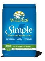 Wellness 10lbs Simple Lamb and Oatmeal Formula Dry Food
