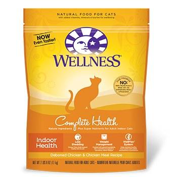 Wellness 2lbs Indoor Health Adult Cat Food