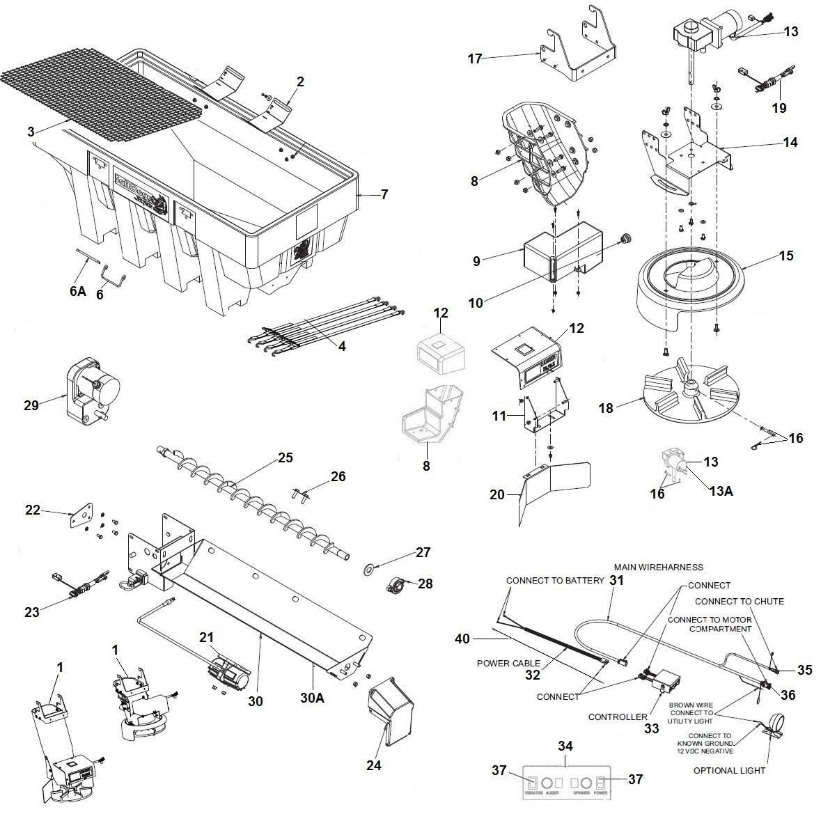 SaltDogg Shpe1500 Electric V Box Schematic