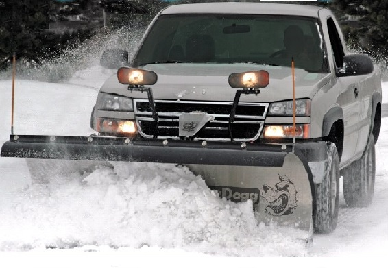 SnowDogg MD Snow Plow