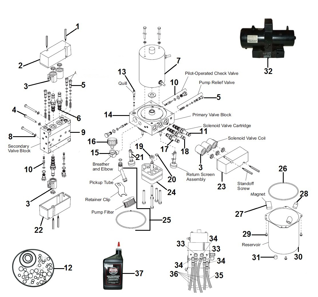 Western MVP Power Unit Schematic