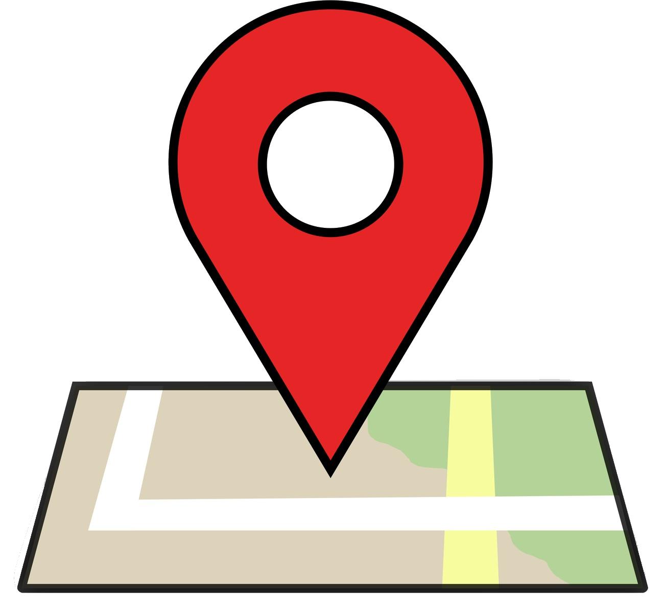 location graphic icon