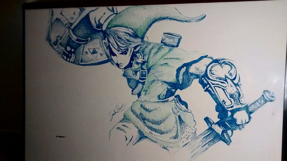 Link whiteboard drawing