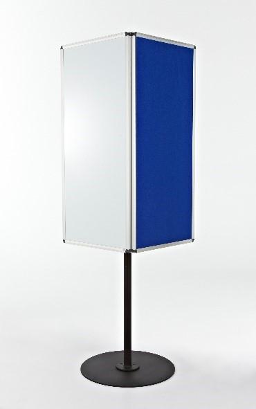 Rotating 4-sided board
