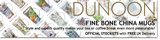 Dunoon Themed & Decorative Mugs with Free UK Delivery