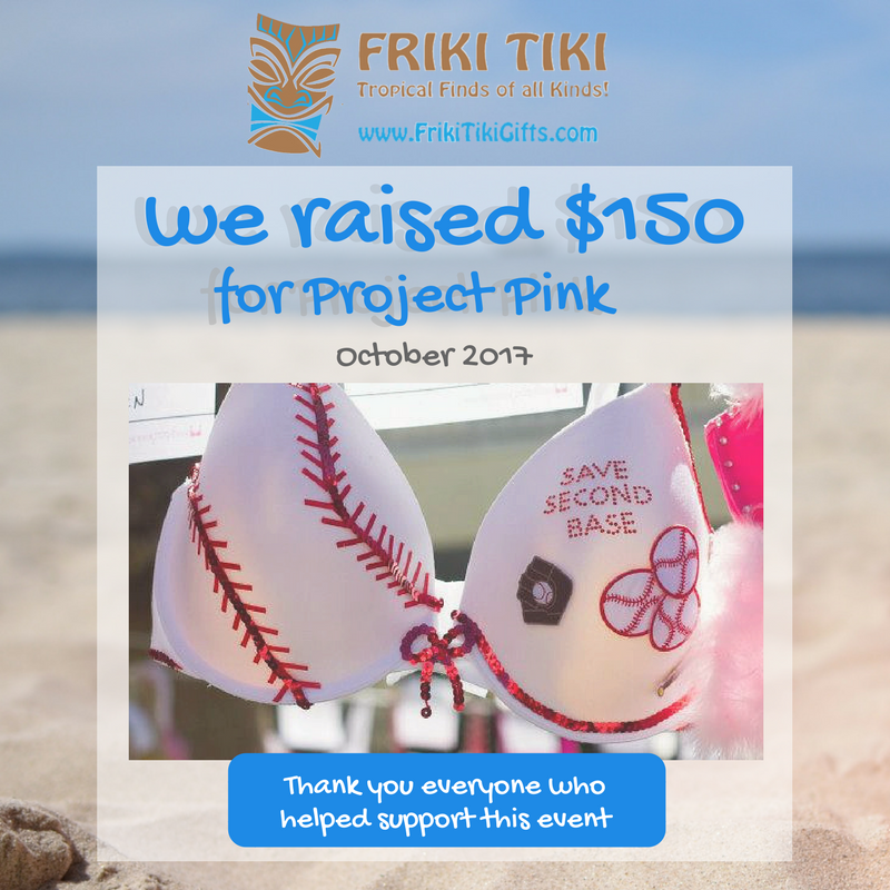 We raised $150 for local women's mammogram fund