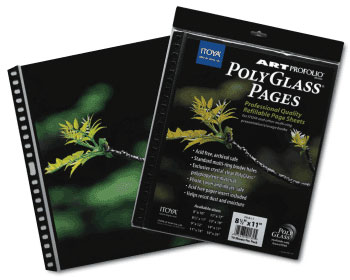 Itoya Polyglass pages refill pages