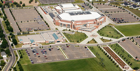 Arena Aerial View