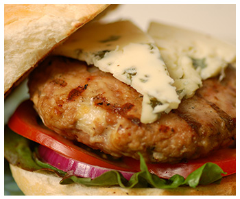 Recipe for Oregon Blue Turkey Burgers