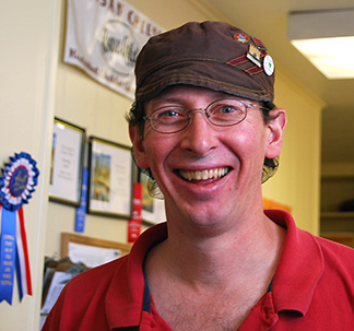 Tom Van Voorhees ACS CCP, Rogue Creamery's Cheese Shop Manager