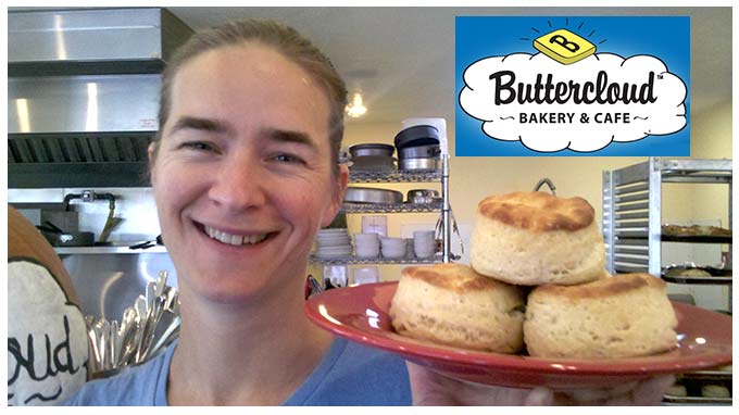 Ellen Holub of Buttercloud Biscuits in Medford, Oregon