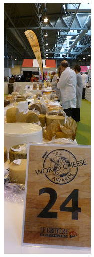 Rogue River Blue on the SuperGold Table at the 2012 World Cheese Awards