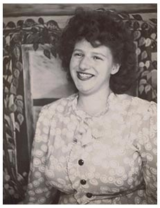 Elizabeth Norris at 16 years, when she started working at Rogue Creamery, then known as Rogue Valley Creamery