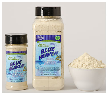 Blue Heaven in 3oz and 12.35 oz shaker bottles