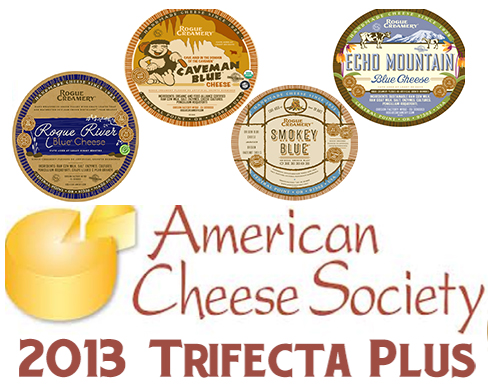 Rogue Creamery Blues Win 4 Awards at 2013 American Cheese Society Competition