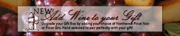 New! Add Wine to your Gift Box!