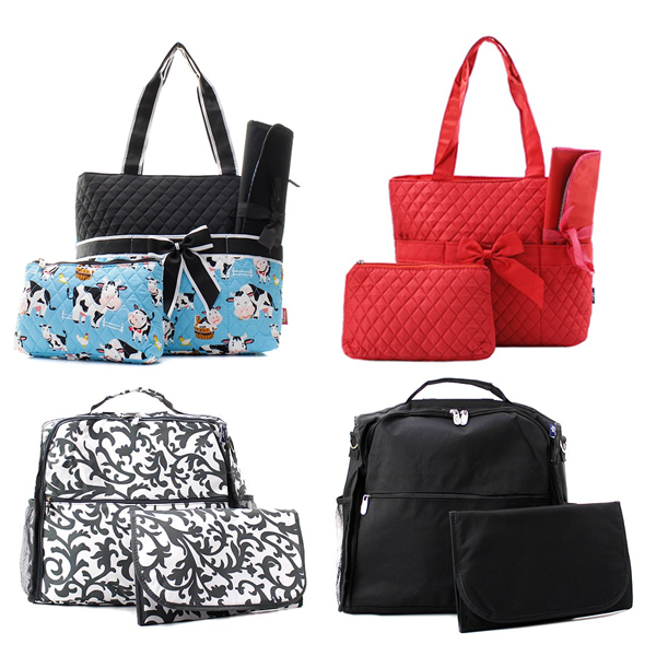 N'GIL Diaper Bags (Quilted)