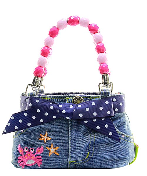 Denim Bootie Bags