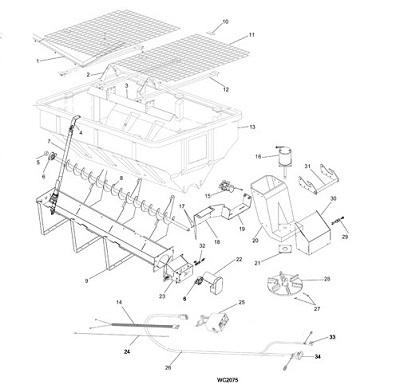 SaltDogg Shpe4000 Spreader V Box Schematic