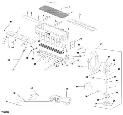 SaltDogg SHPE3000CH Spreader Schematic