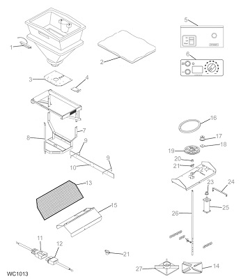 Western Pro Flo Tailgate Spreader Parts Angelo's Supplies