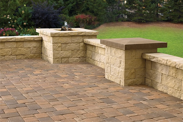 Romanesque Brick Pavers