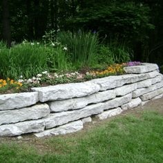 Michigan Limestone Ledge Rock