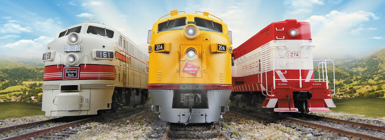 Trains Trains Trains