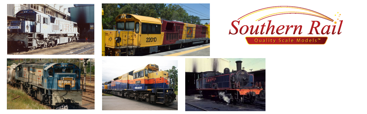 Locomotives & Rolling Stock