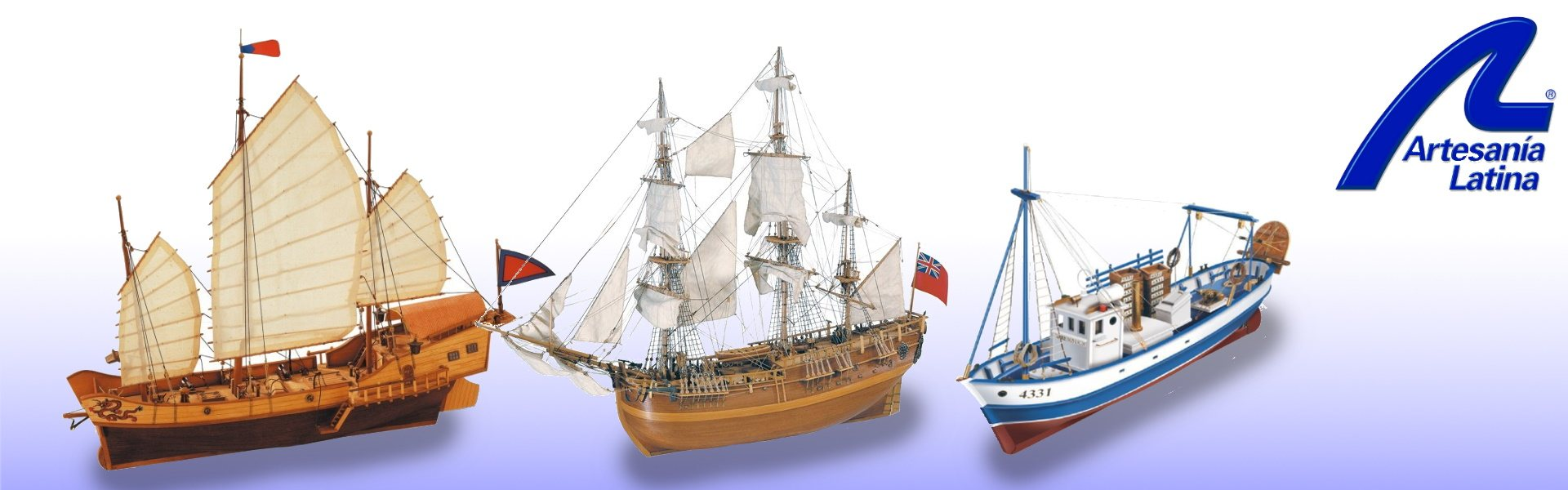 Wooden ship model kits