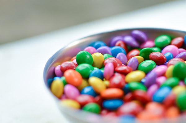 Бонбони - тврди, гумени