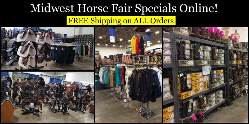 Midwest Horse Fair Specials