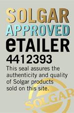 Solgar Official Approved Authorised Solgar Retailer