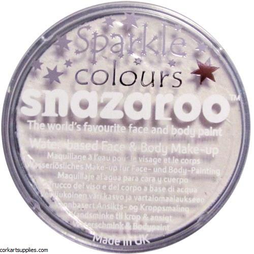 Snazaroo 18ml Sparkle White