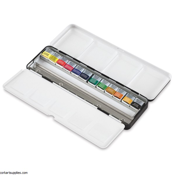Artist's Water Colour 'Black Box' Set 12pc