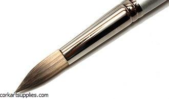 Cryla Brush C10 Short Handle Round Size 00