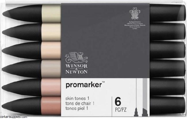 ProMarker Set 6pk Skin Tone 1