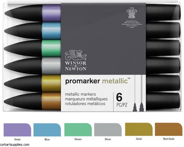 Promarker Set Metallic 6pk