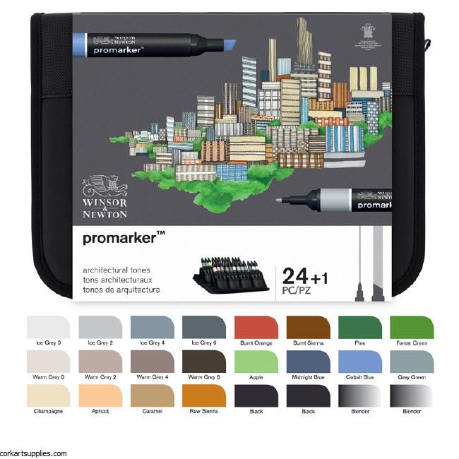 ProMarker 24pk Architect Walle