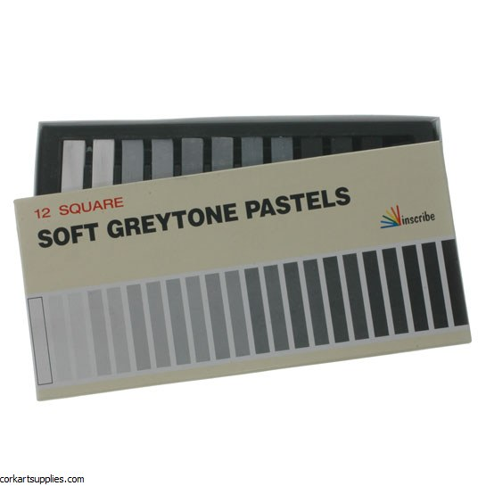 Inscribe Soft Pastel Grey 12pk
