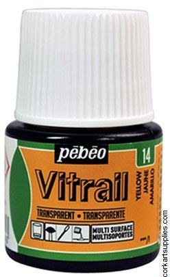 Vitrail 45ml Transparent 14 Yellow
